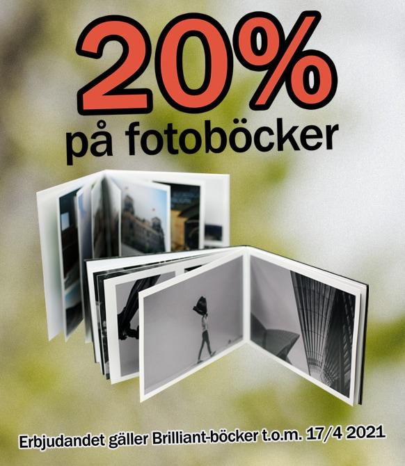 Fotobok 20%