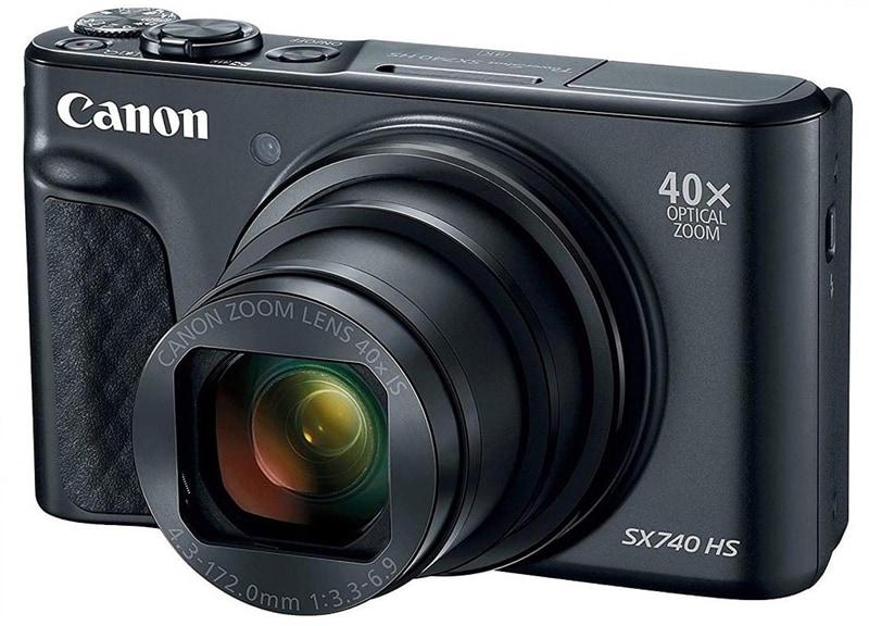 official photos 30b91 da12e Canon Powershot SX740 Svart