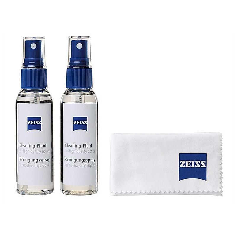 Zeiss Cleaning Fluid - Spray och mikrofiberduk