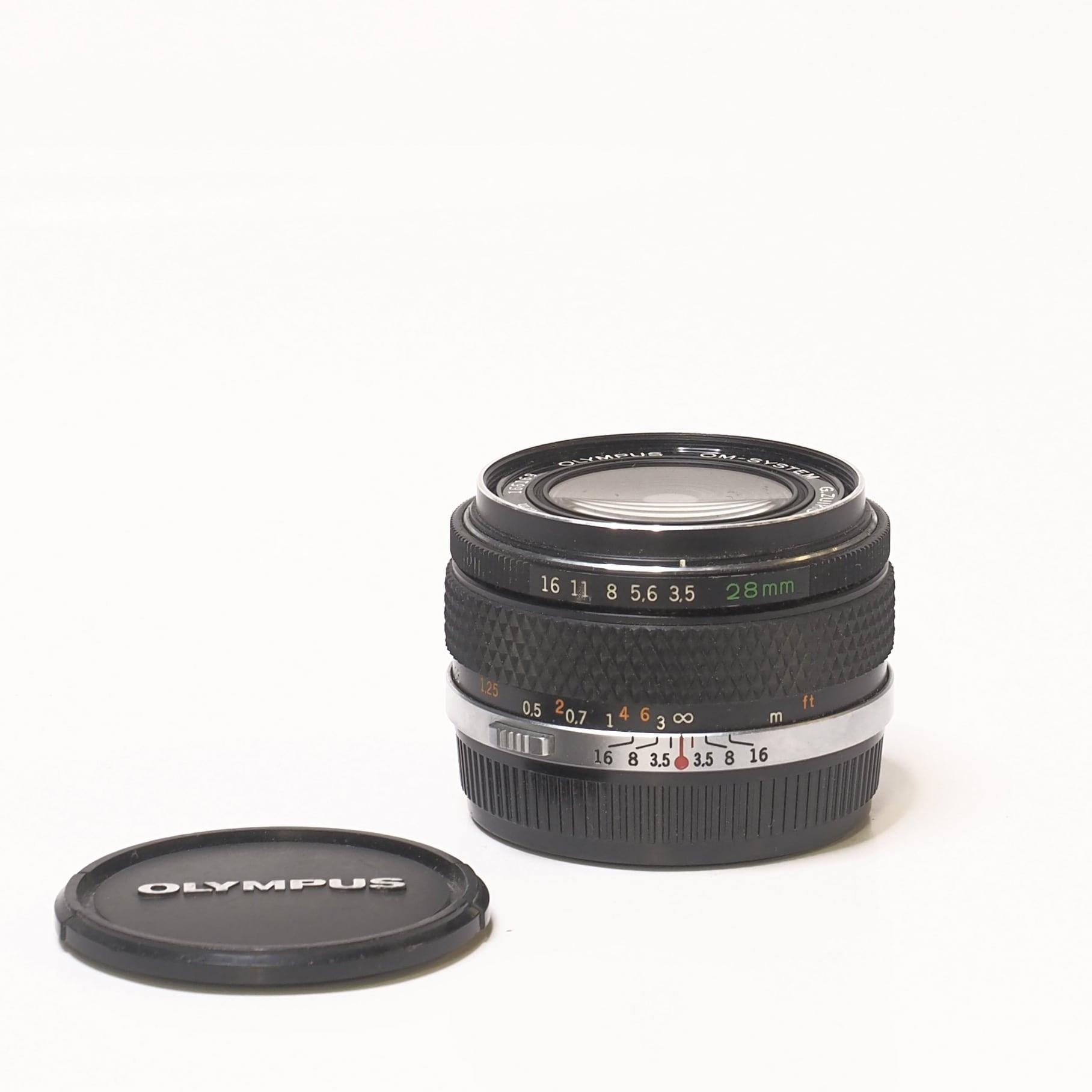 Olympus 28mm f/3,5 - Begagnad