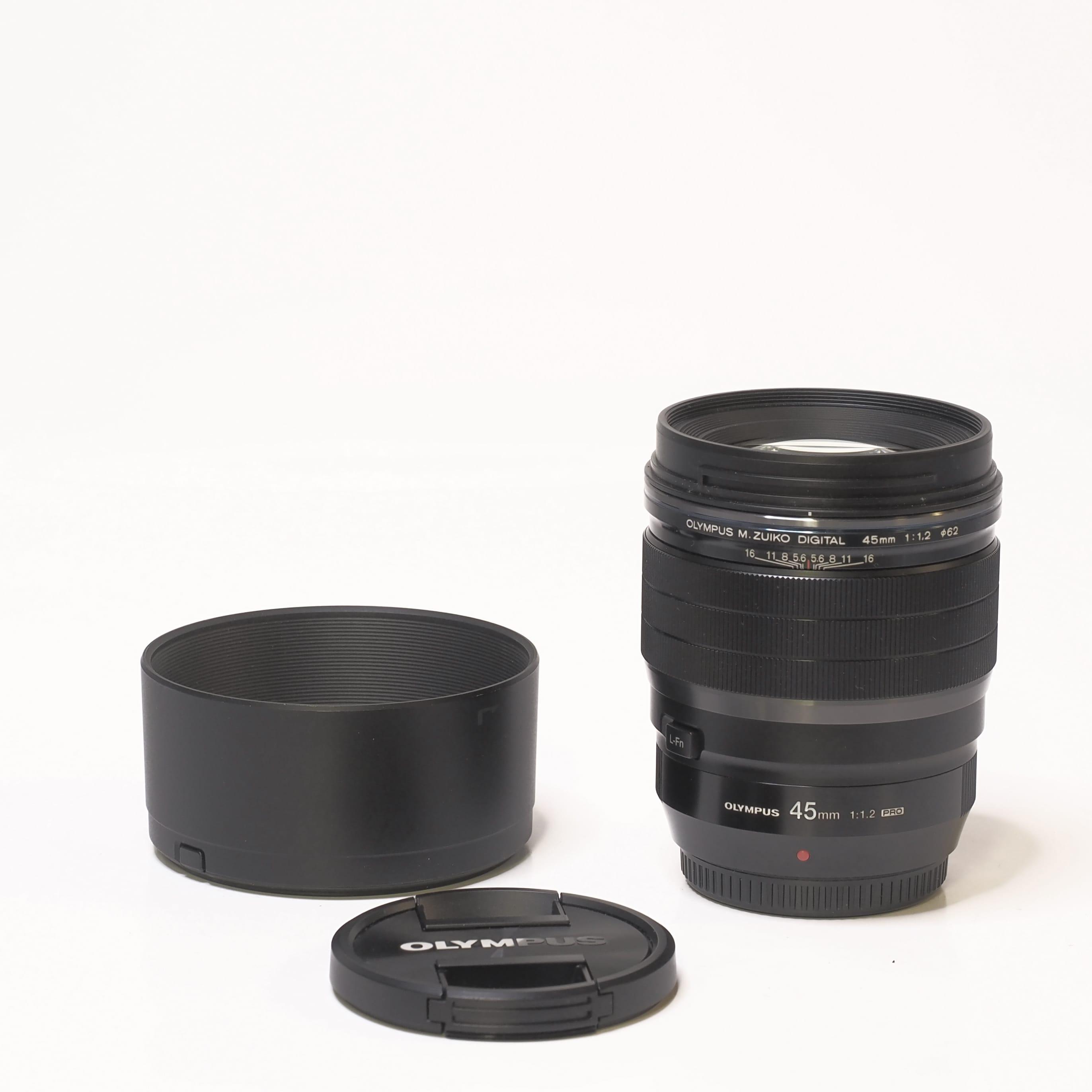 Olympus 45mm f/1,2 - Begagnad