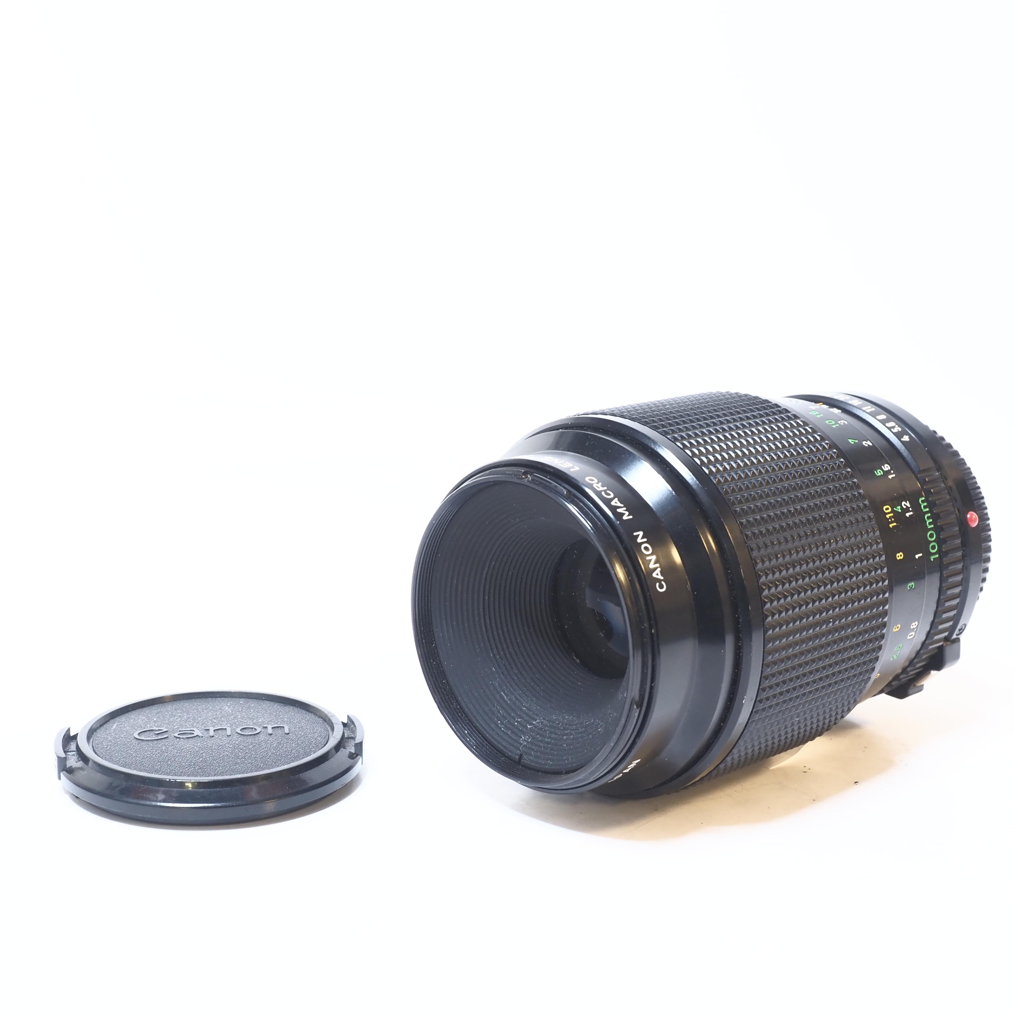 Canon Macro FD 100mm f/4 - BEGAGNAT