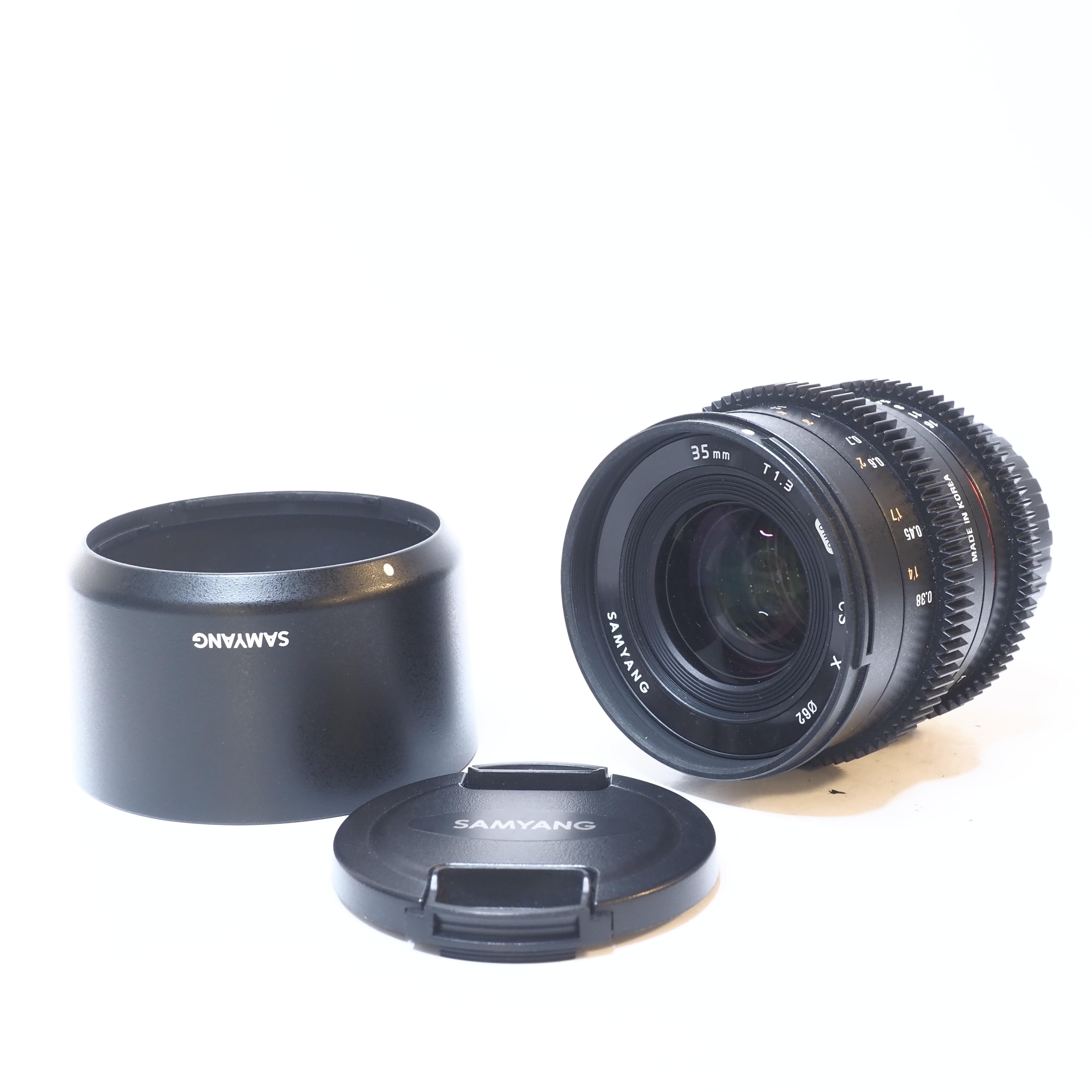 Samyang UMC CS X 35mm f/1.3 för Fujifilm - BEGAGNAT
