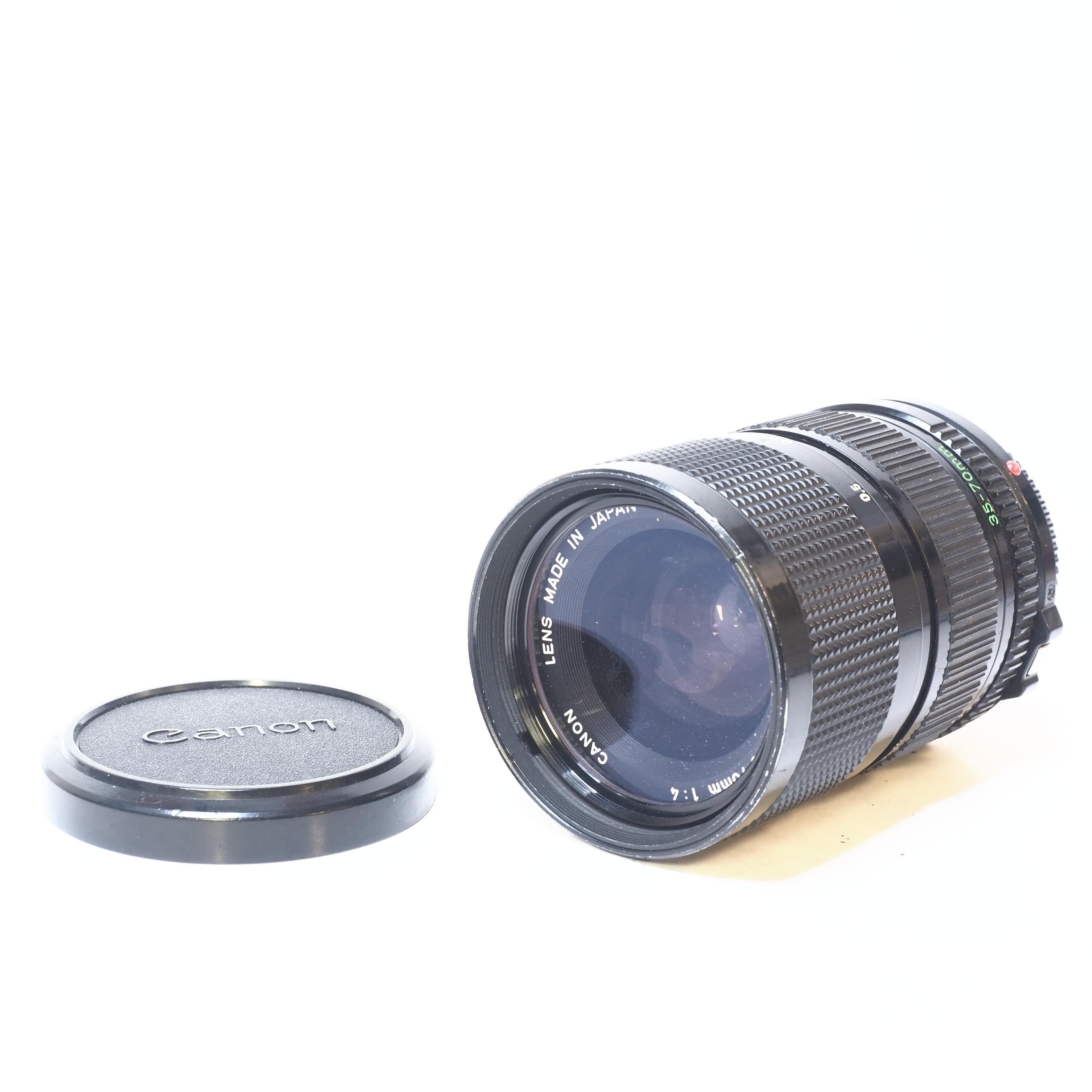 Canon FD 35-70mm f/4 - BEGAGNAT