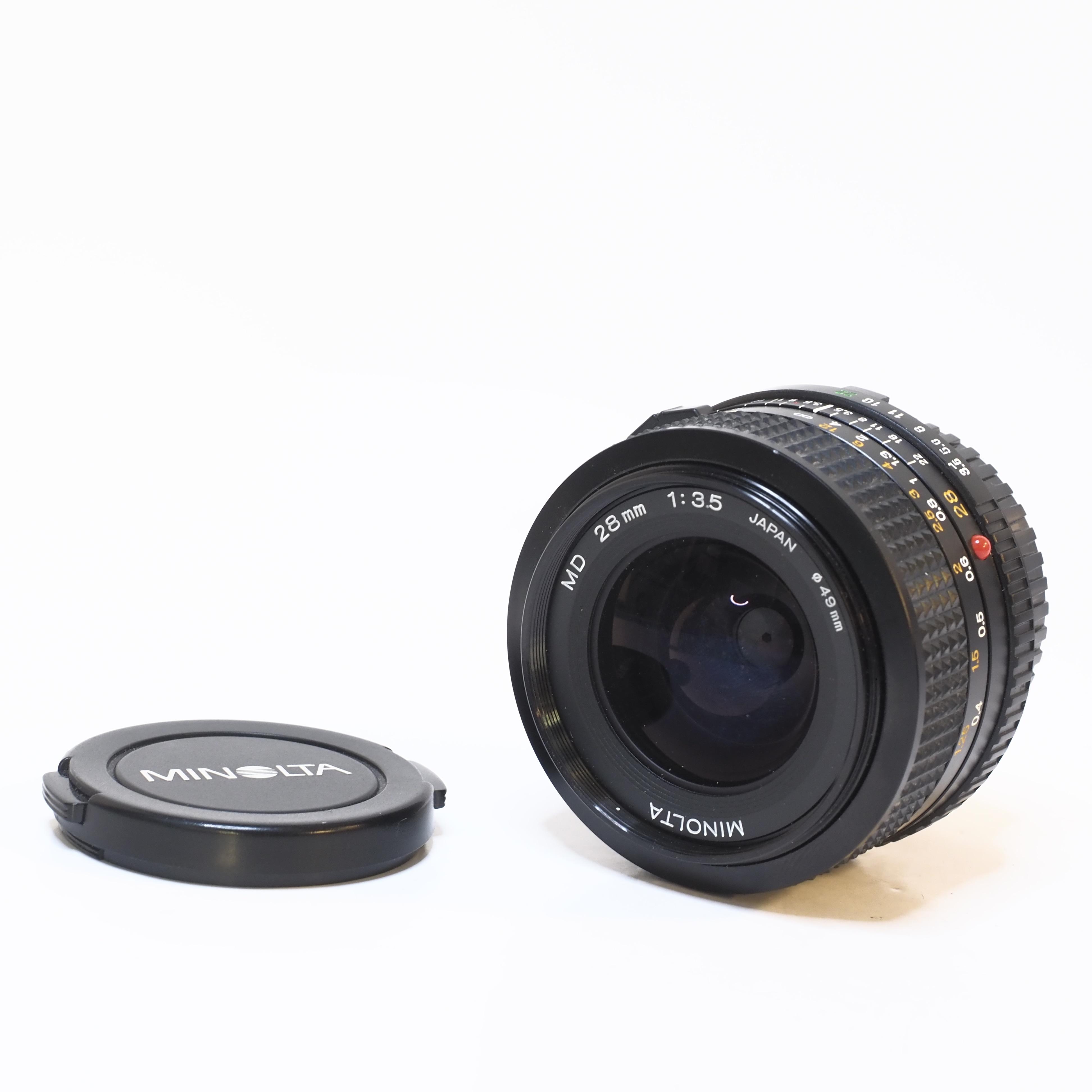 Minolta MD 28mm f/3.5 - BEGAGNAT