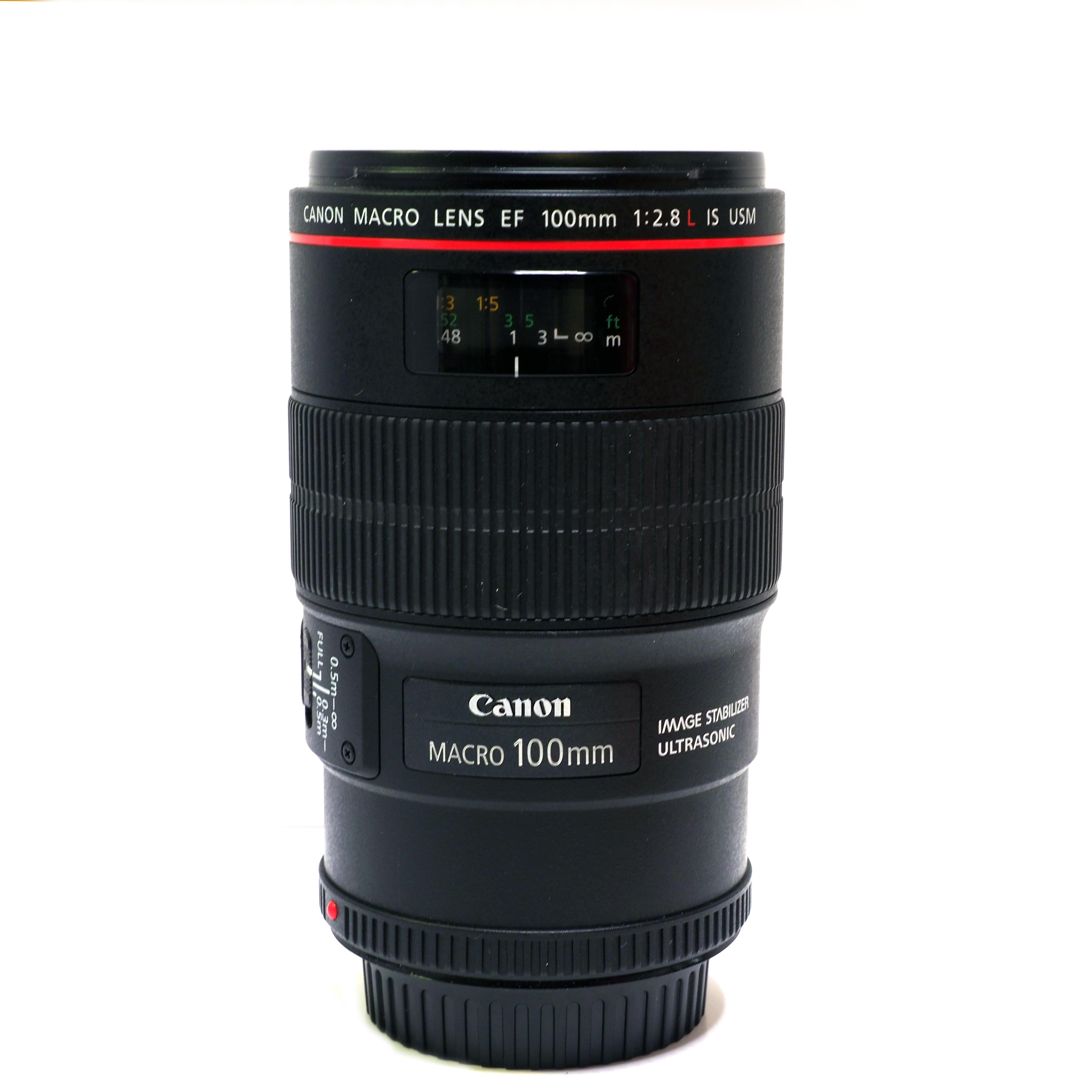Canon EF 100mm f/2,8L Macro IS USM - BEGAGNAT