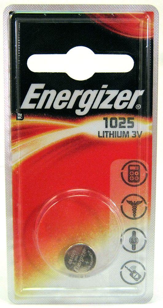 Energizer Lithium Cr1025 1Pk
