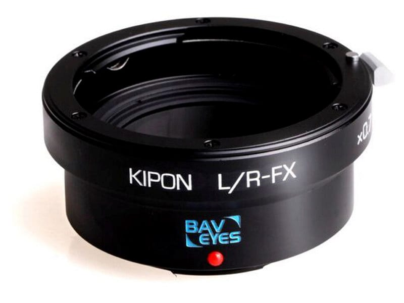 Kipon Adapter För Fuji X Body Baveyes Leica R-FX 0.7X