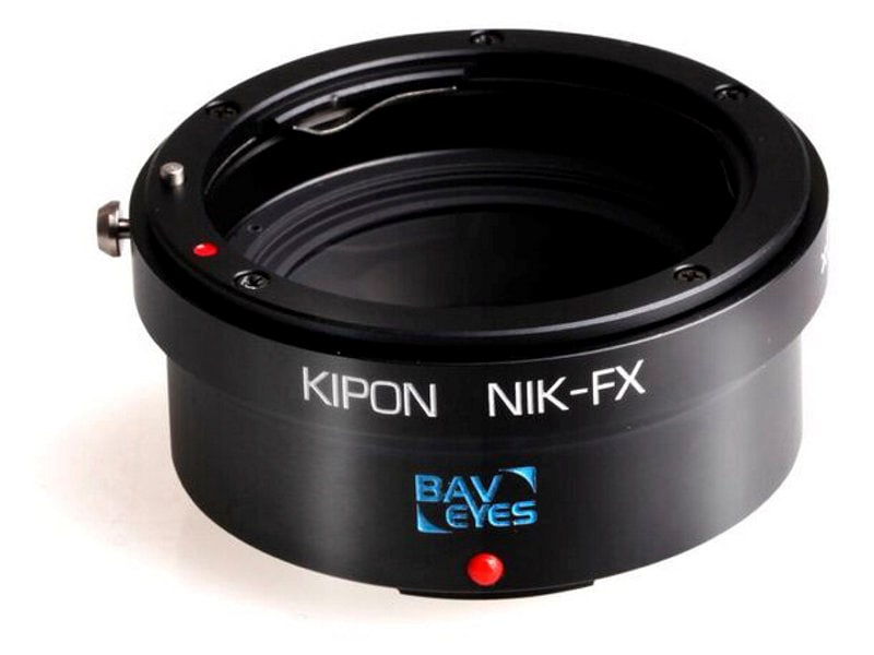 Kipon Adapter För Fuji X Body Baveyes Nikon F-FX 0.7X