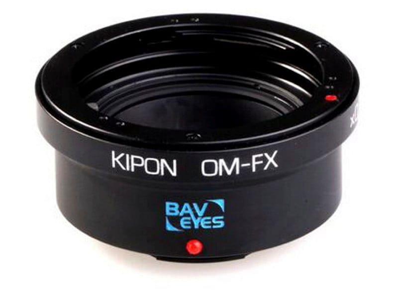 Kipon Adapter För Fuji X Body Baveyes OM-FX 0.7X