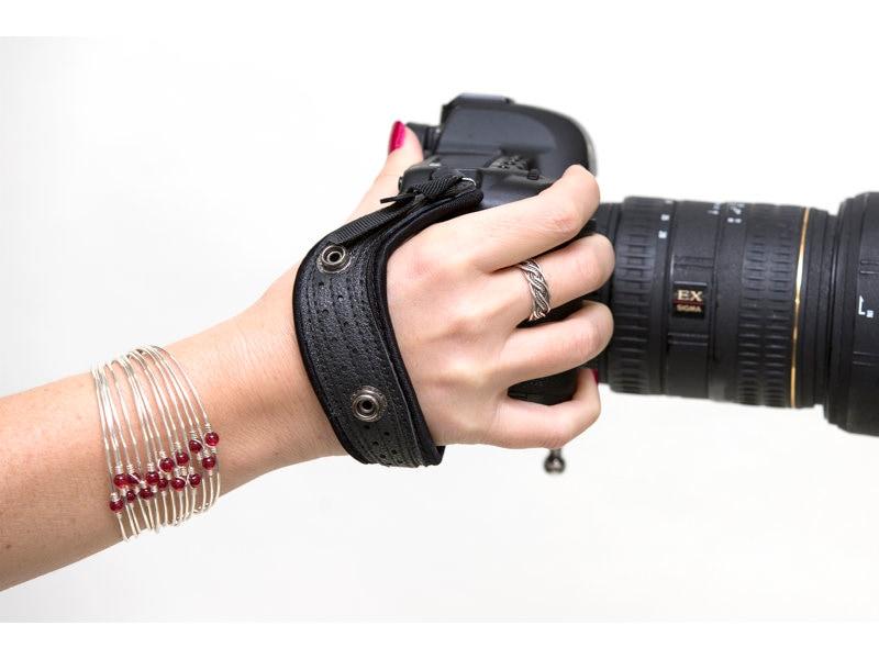 Spiderpro Hand Strap/Standard Svart