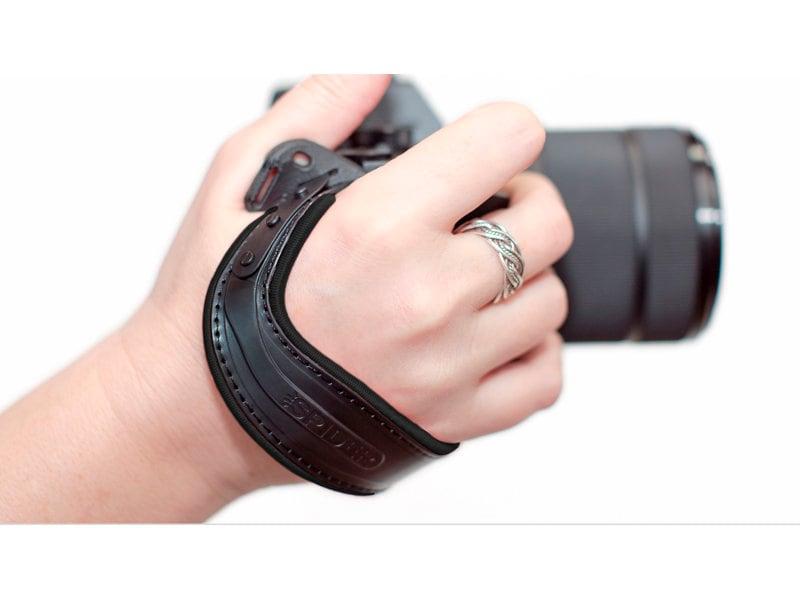 Spider Light Hand Strap (svart)