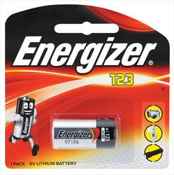 Energizer Lithium Photo 123 1Pk