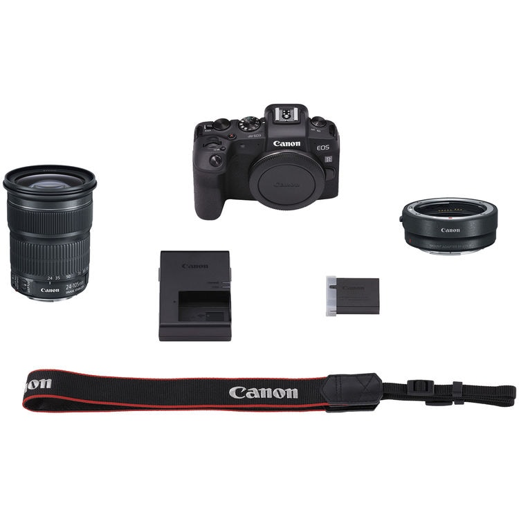 Canon EOS RP + EF Adapter + EF 24-105mm f/3,5-5,6 IS STM