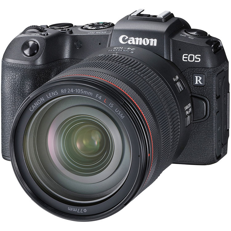 Canon EOS RP + RF 24-105mm f/4 L IS USM + EF Adapter