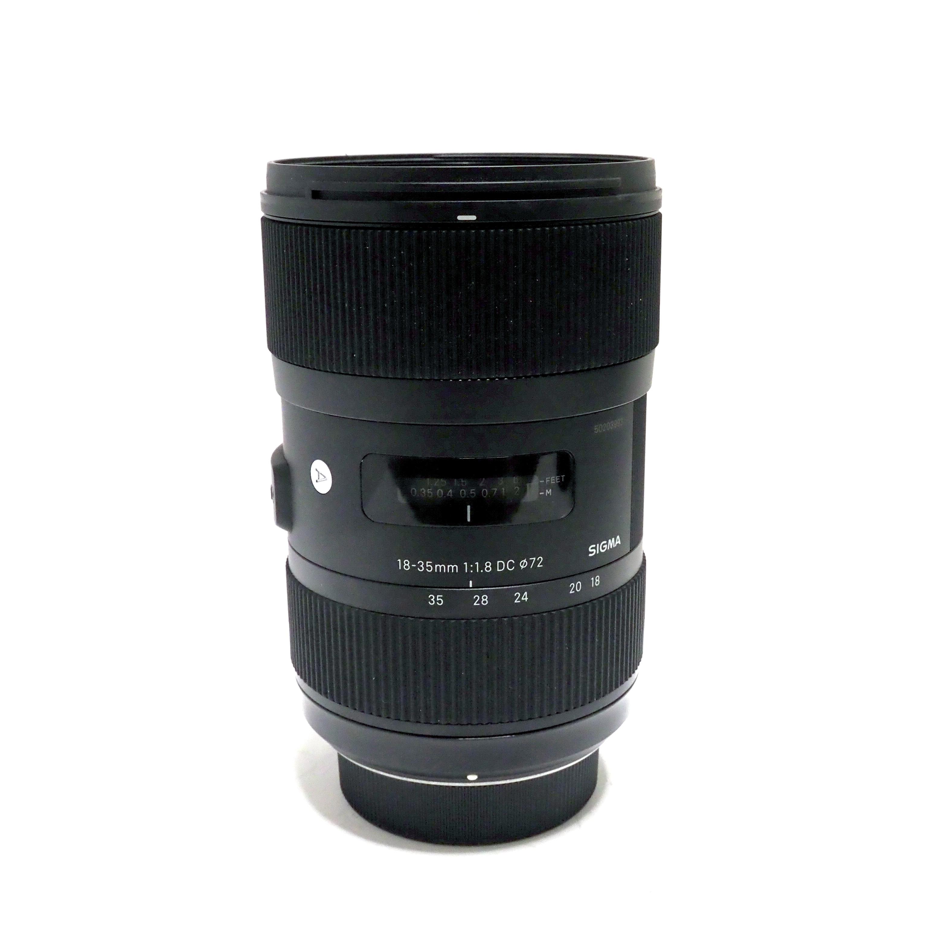 SIGMA AF 18-35mm f/1,8 DC HSM Art för Nikon - BEGAGNAT