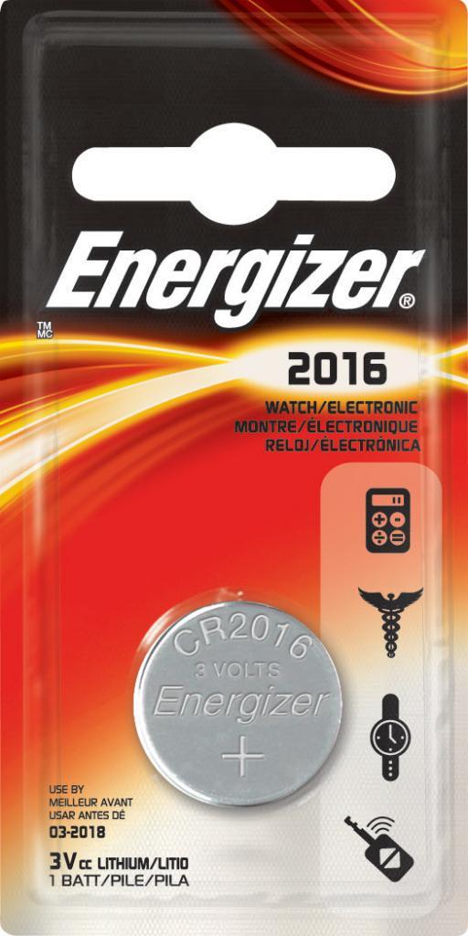 Energizer Lithium Cr2016 1Pk