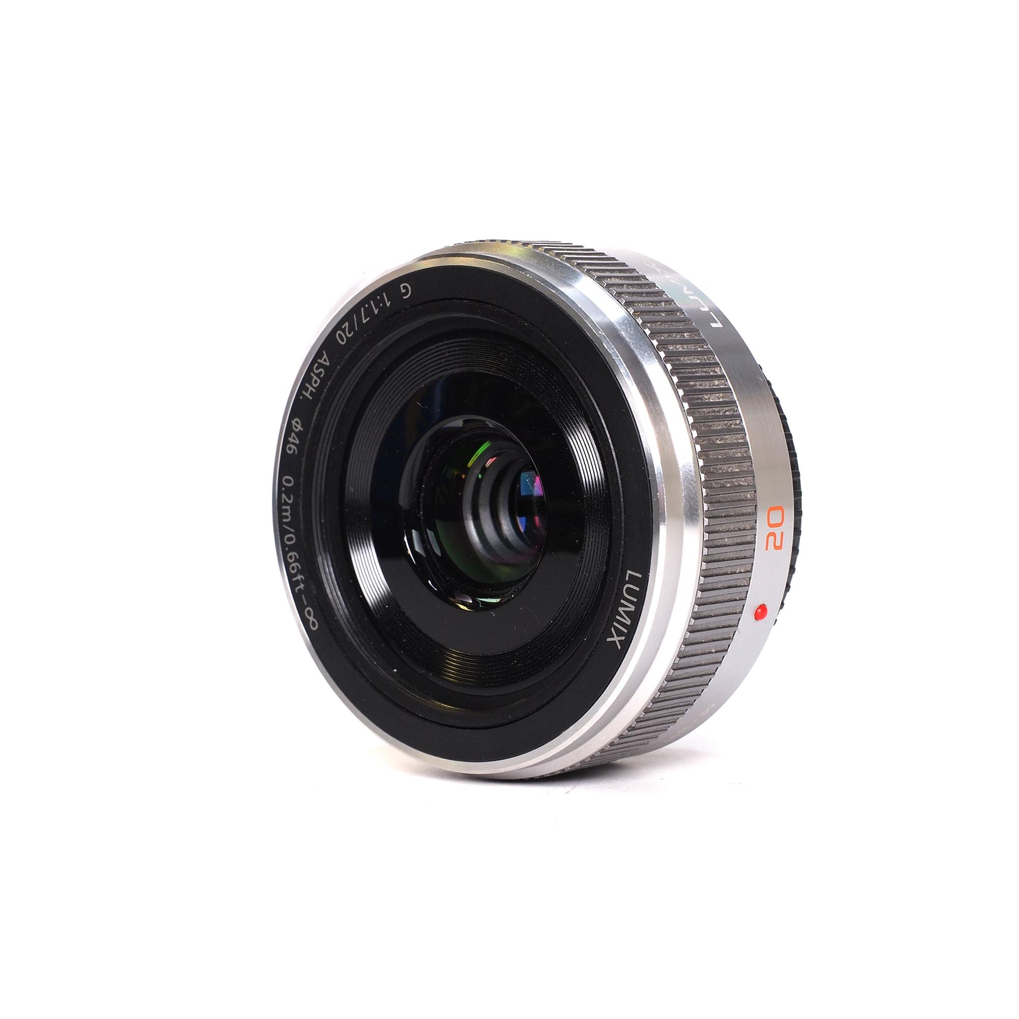 Panasonic 20mm F1,7 II Silver - Fyndvara