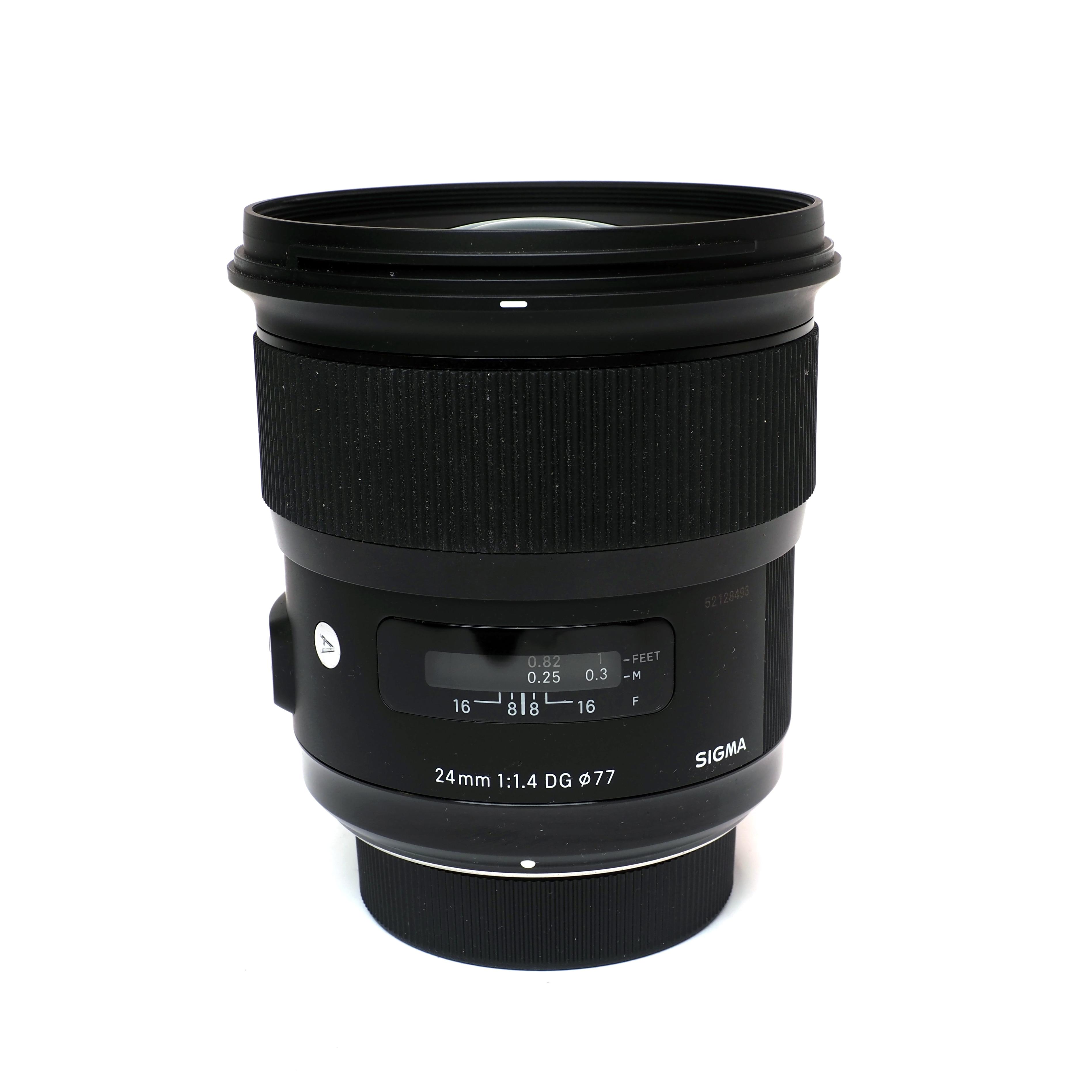 SIGMA AF 24mm f/1,4 DG HSM Art - BEGAGNAT