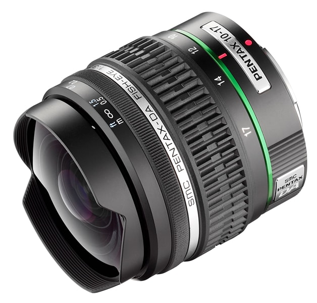Pentax DA 10-17mm f/3,5-4,5 Fish-Eye ED IF