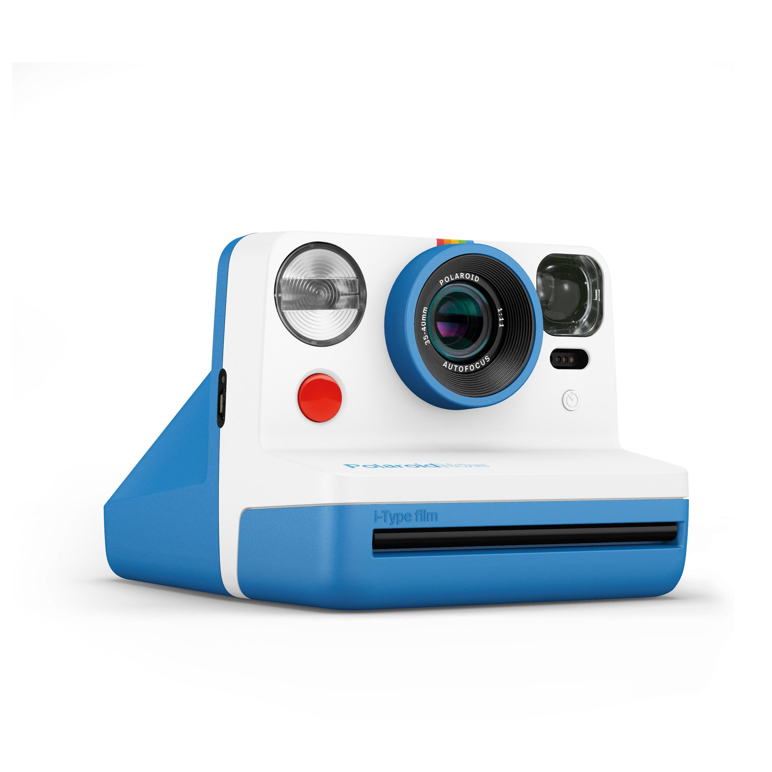 Polaroid Now Blå