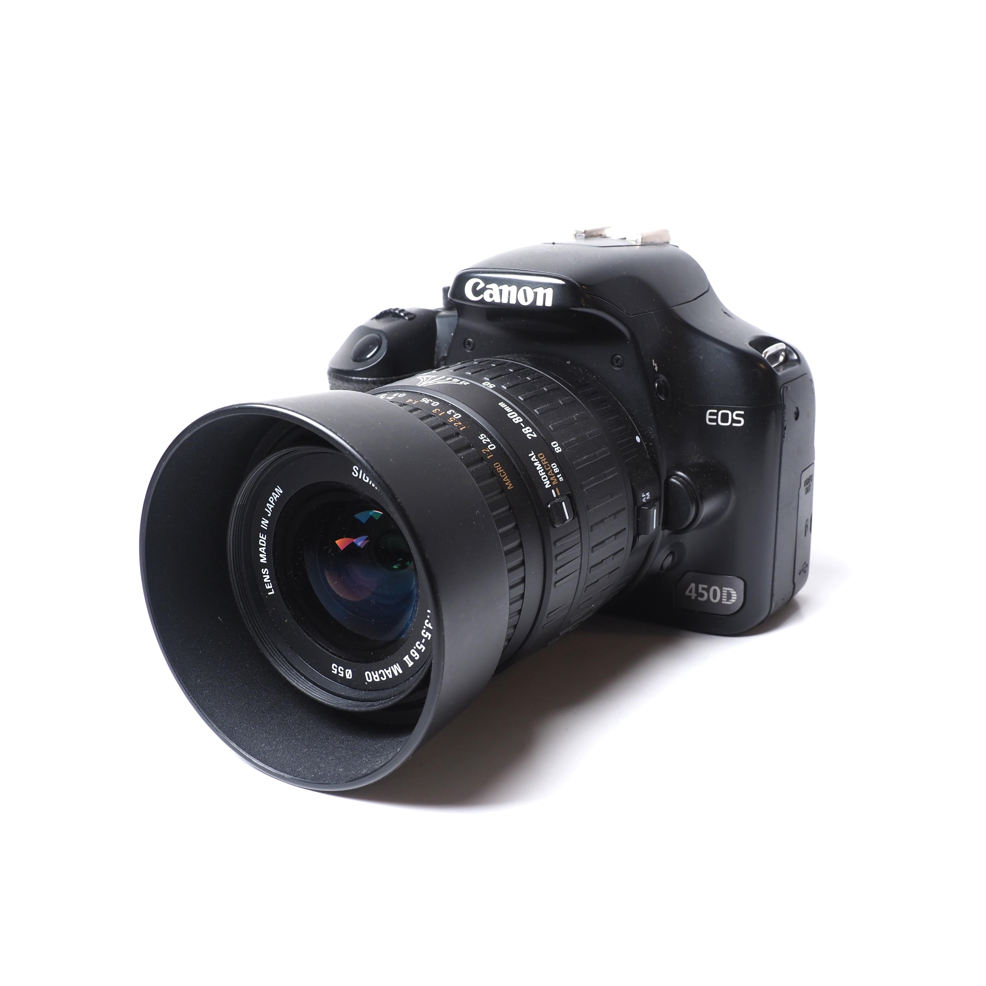 Canon 450D + Sigma 28-80mm MACRO BEGAGNAT