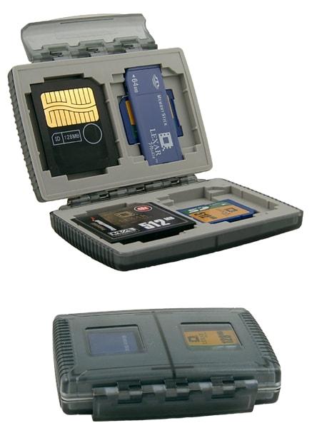 GEPE Cardsafe Basic Onyx 4 Kortplatser