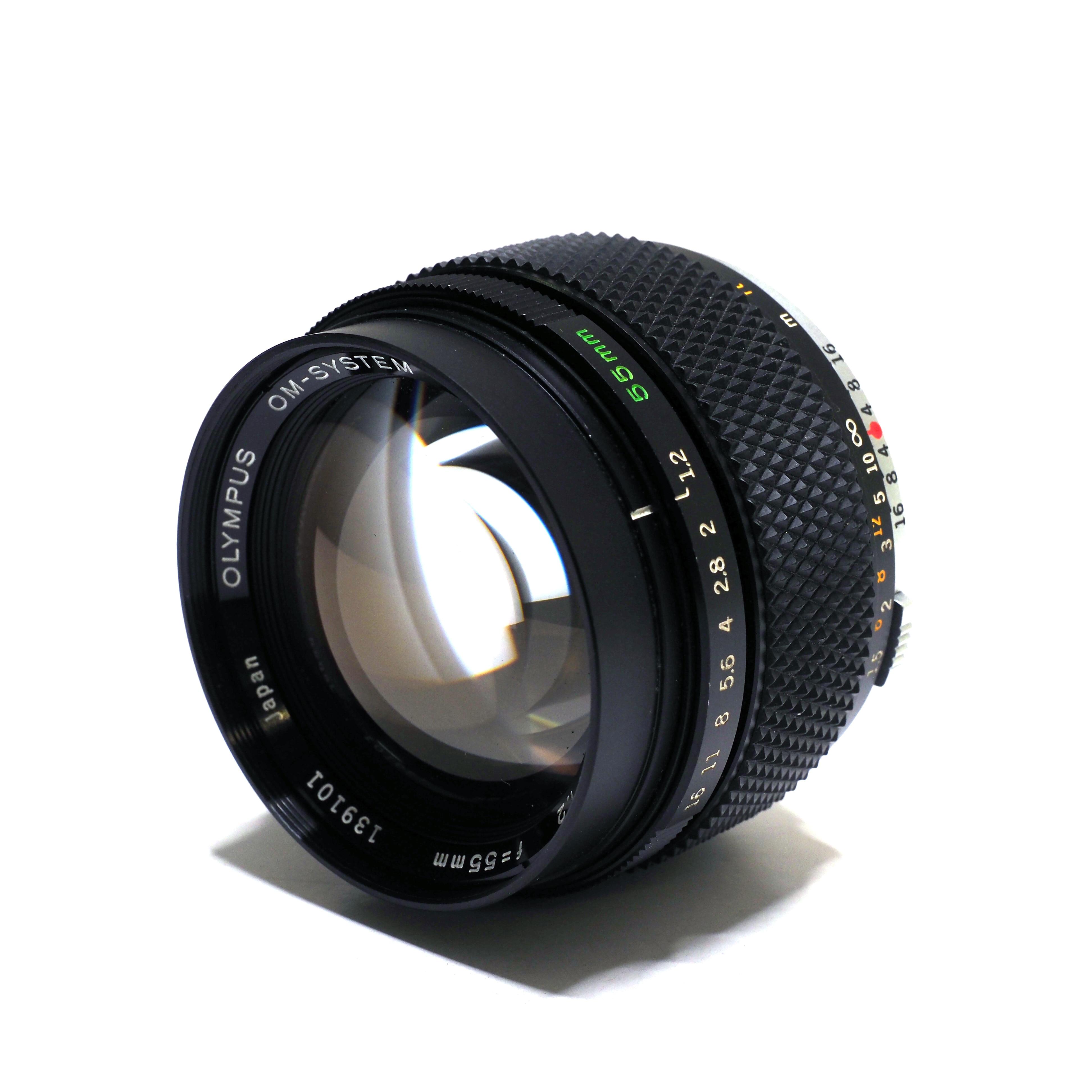 Olympus OM-Zuiko 55mm f/1.2 - BEGAGNAT