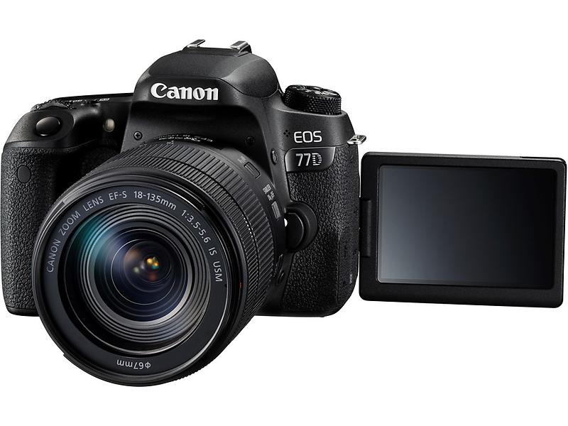 Canon EOS 77D + EF-S 18-135mm f/3,5-5,6 IS USM