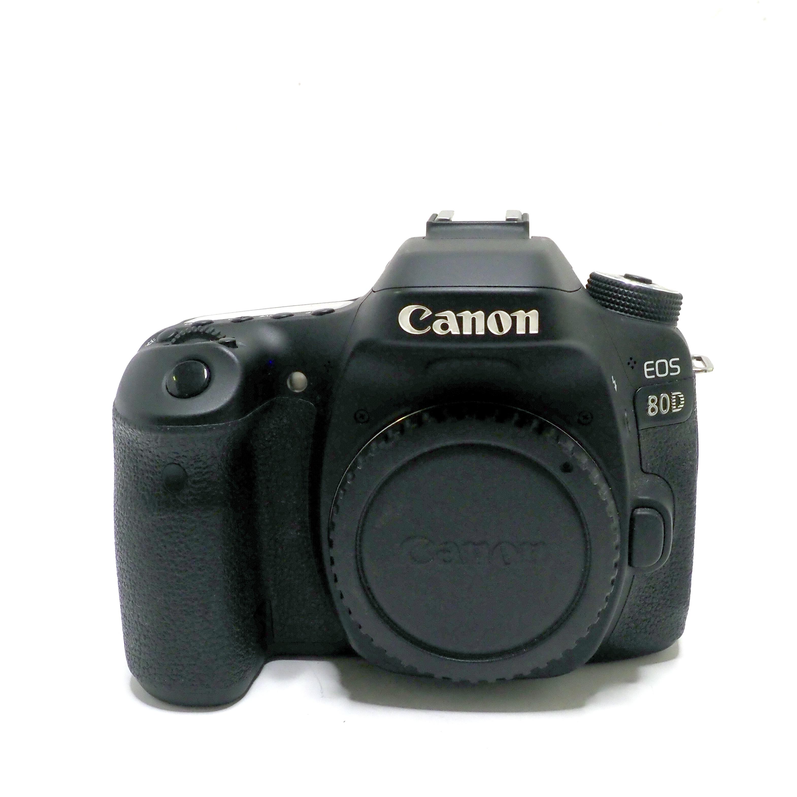 Canon 80D kamerahus - BEGAGNAT