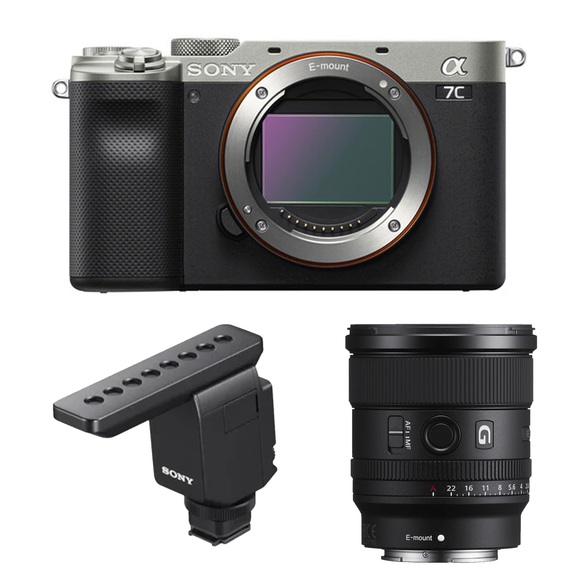 Sony A7C vlogging kit