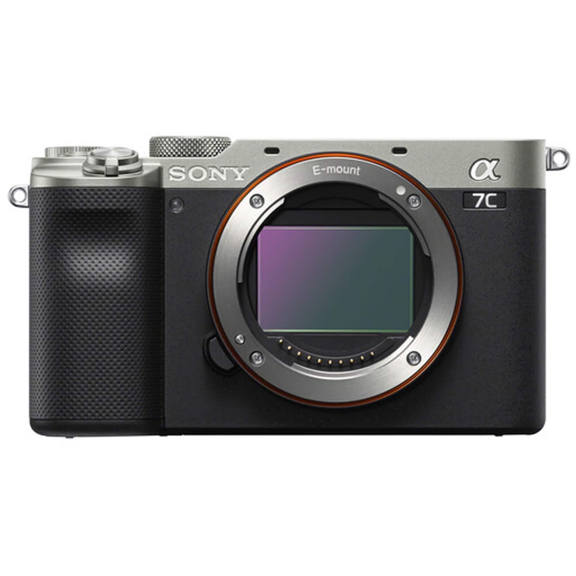 Sony A7C kamerahus silver