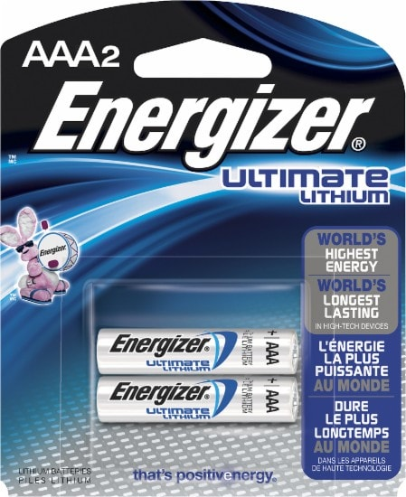 Energizer Ultimate Lithium Aaa 2Pk
