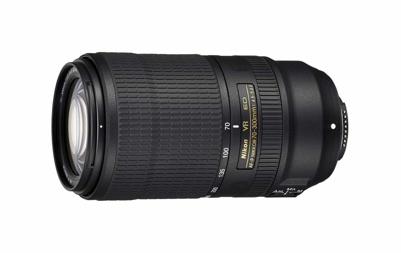 Nikon AF-P NIKKOR 70–300mm f/4.5-5.6E ED VR