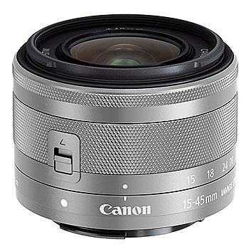 Canon EF-M 15-45mm f/3.5-6.3 IS STM Silver - Bulk