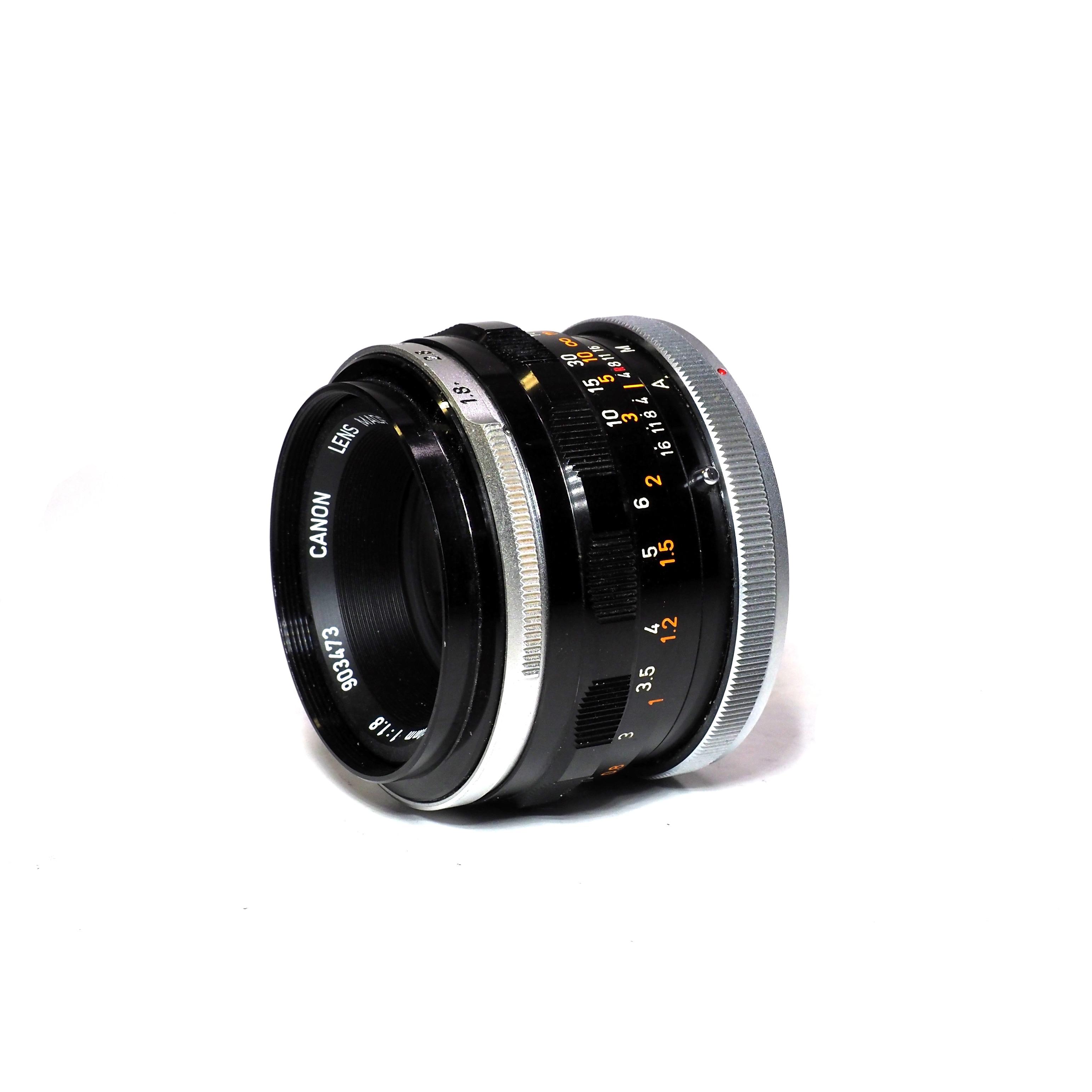 Canon FL 50mm f/1,8 - BEGAGNAT