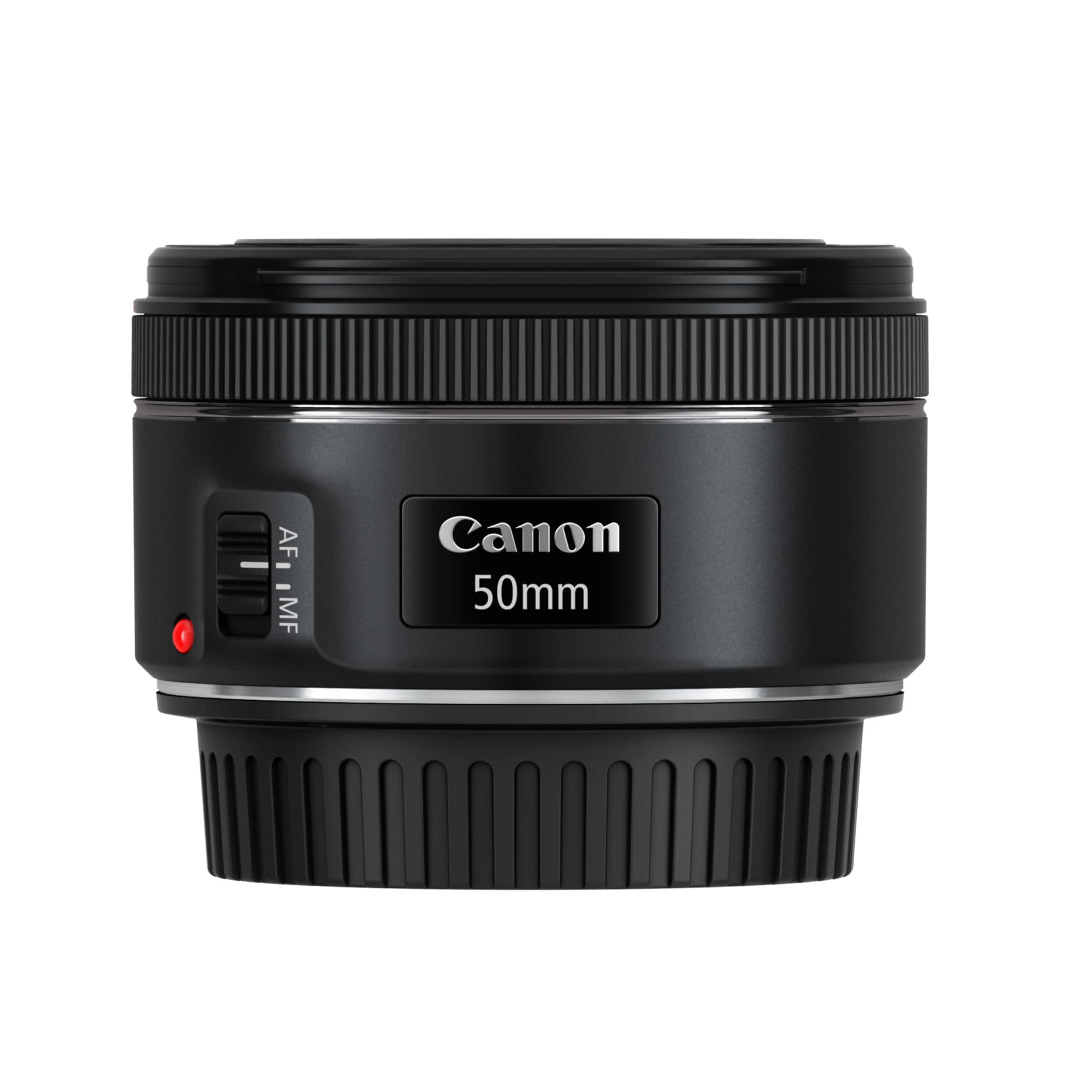 EF 50mm f1.8 STM_Side_with_cap