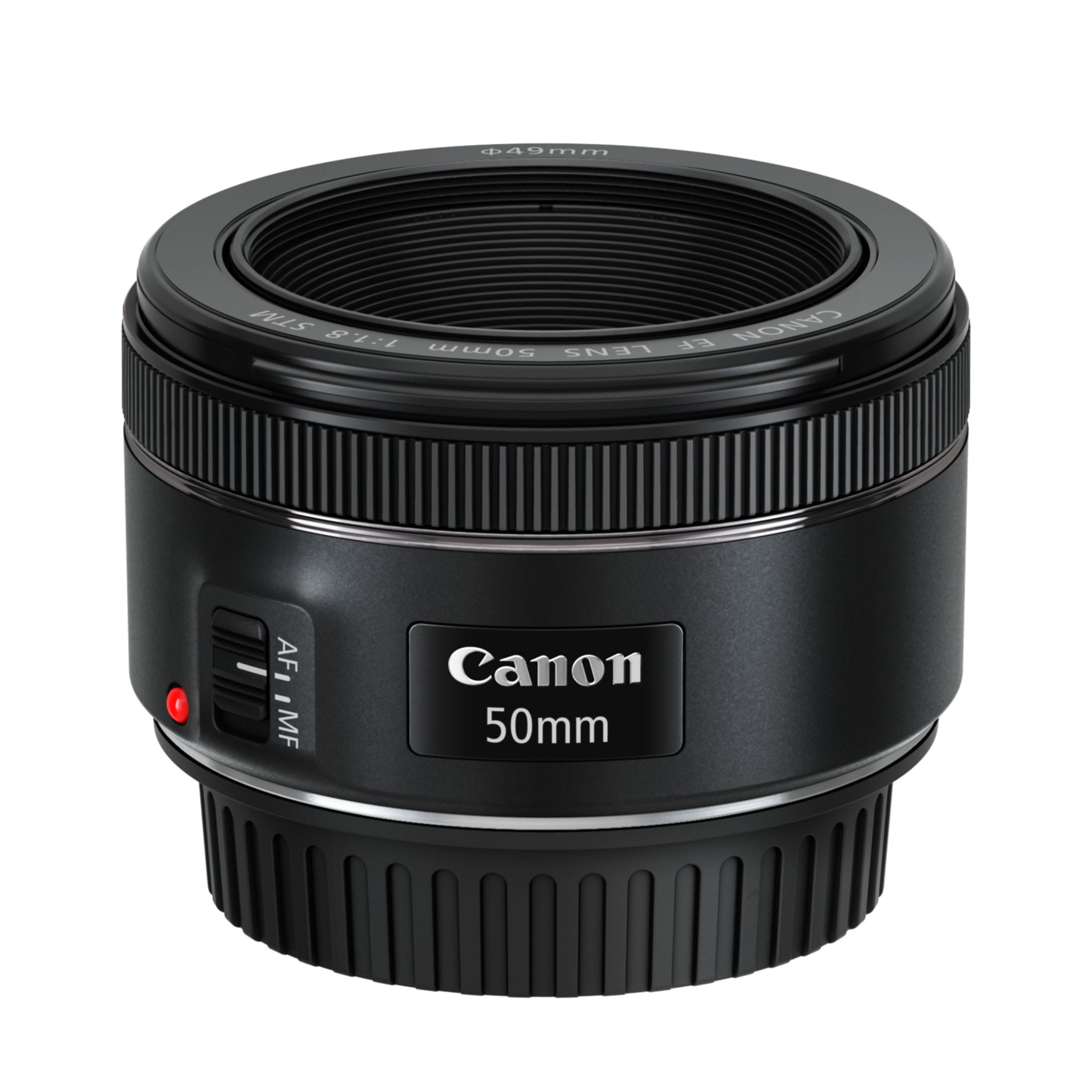 EF 50mm f1.8 STM_Slant_with_cap