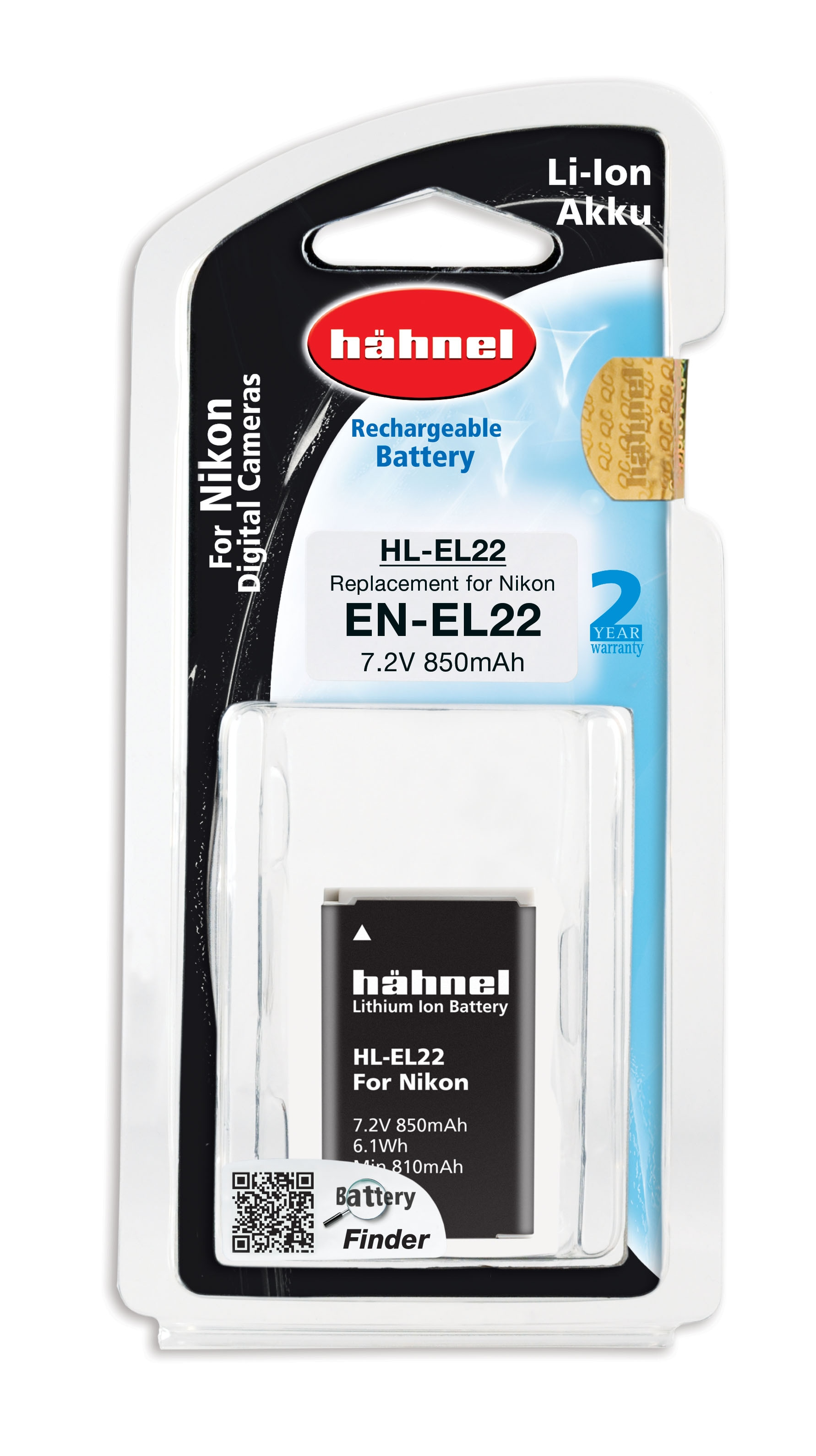 Hähnel EN-EL22