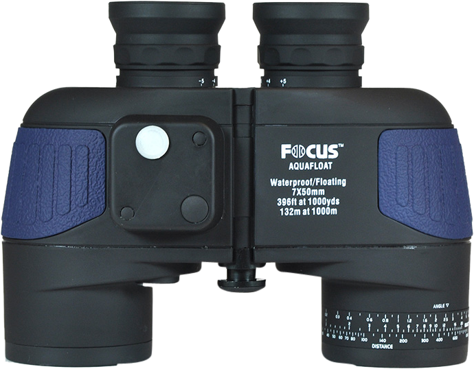 Focus Aquafloat 7x50 WP Kompass blå/svart