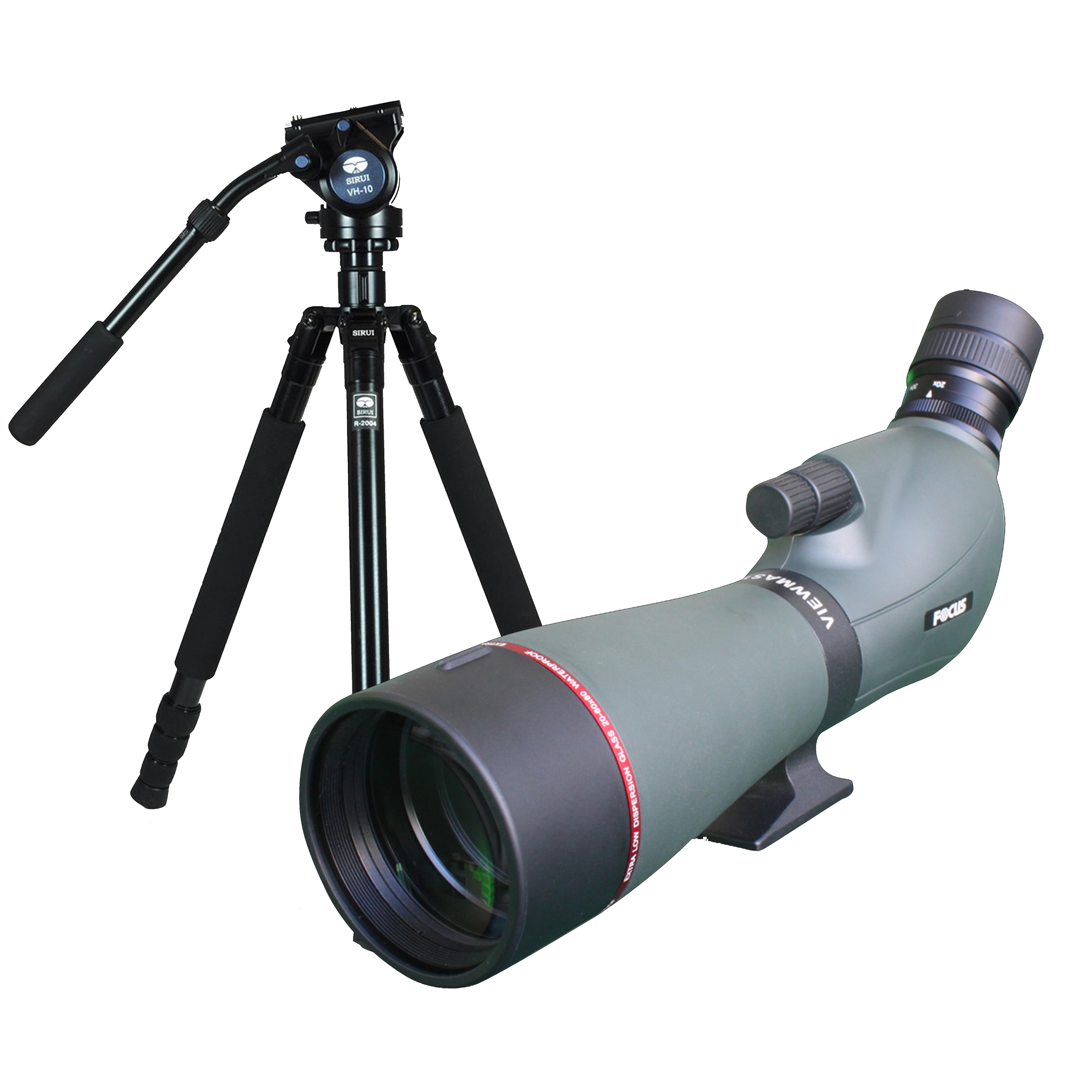 Focus Viewmaster 20-60x80 + Sirui R-2004+VH10