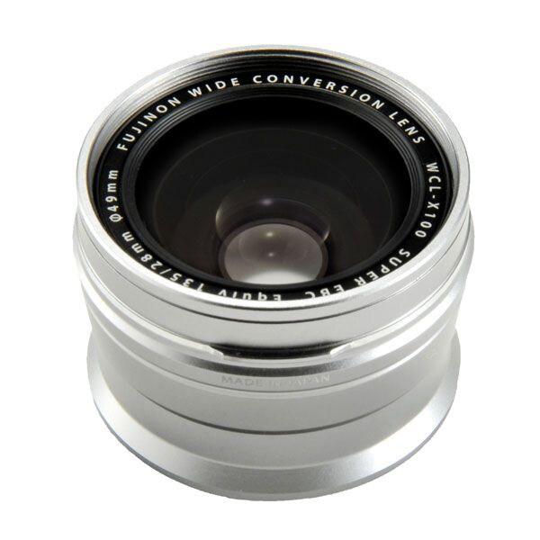 Fujifilm WCL-X100 II Wide Angle Silver