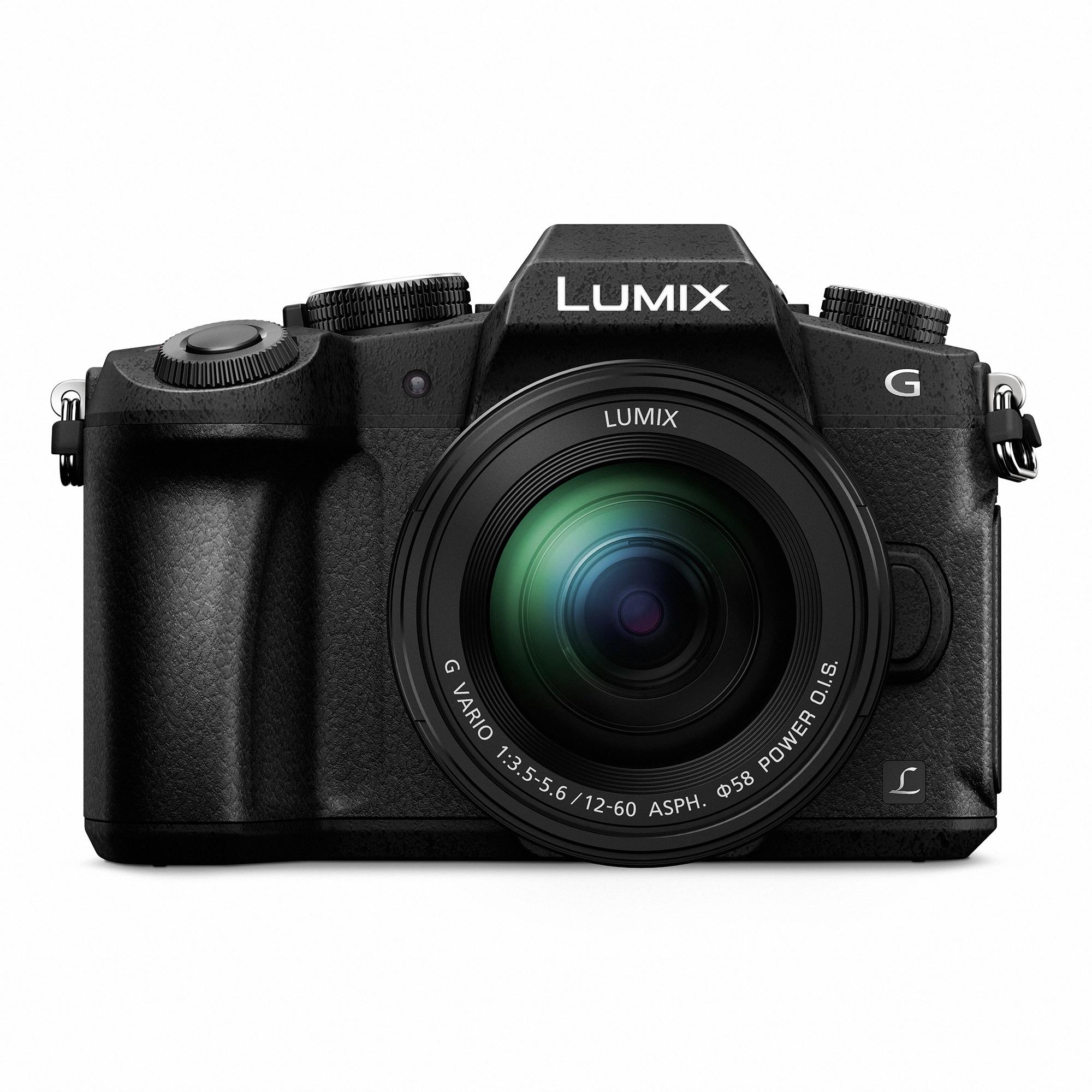 Panasonic Lumix G80 + 12-60 Svart
