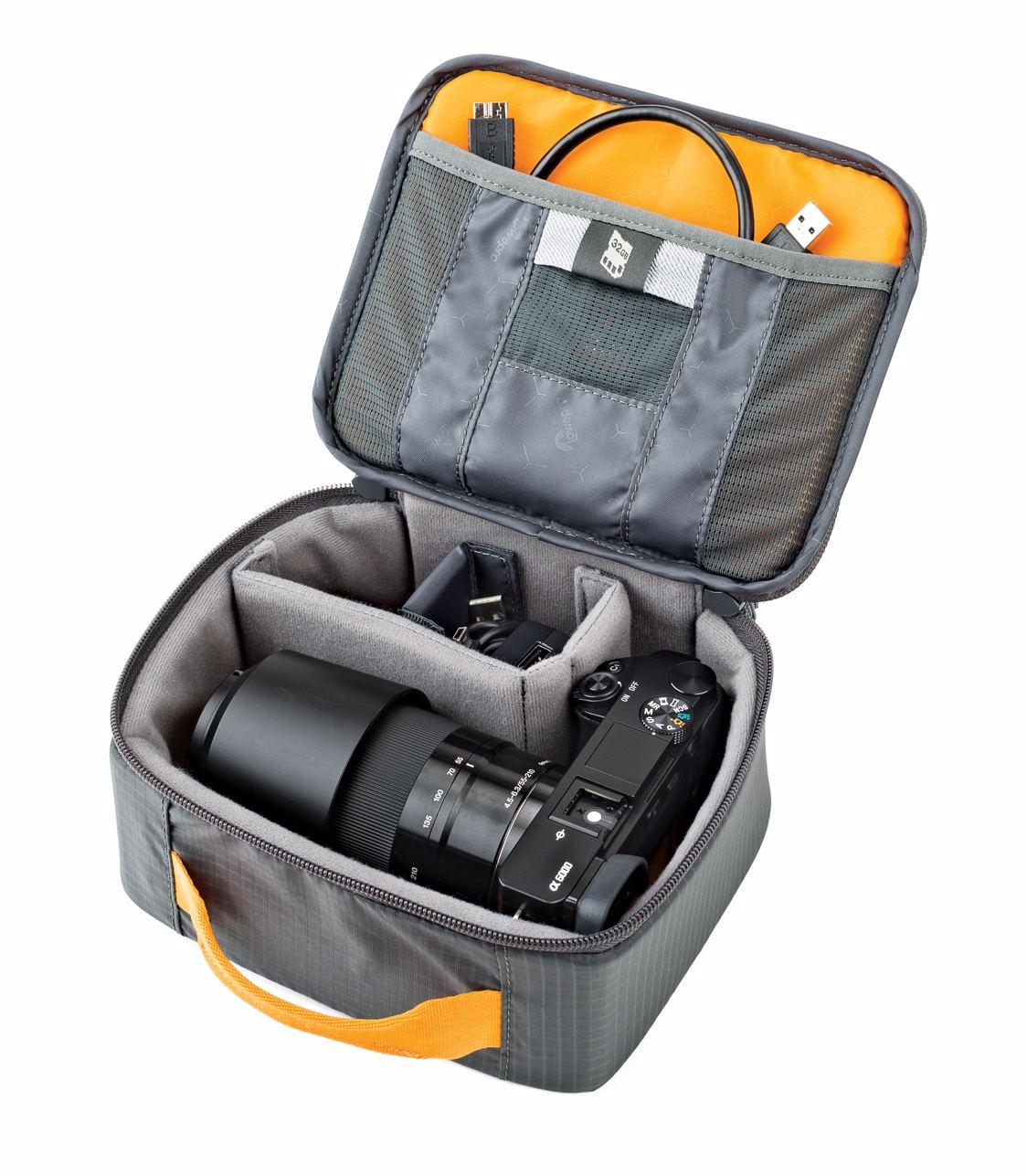 Lowepro Gearup Camera Box Medium Dark Grey