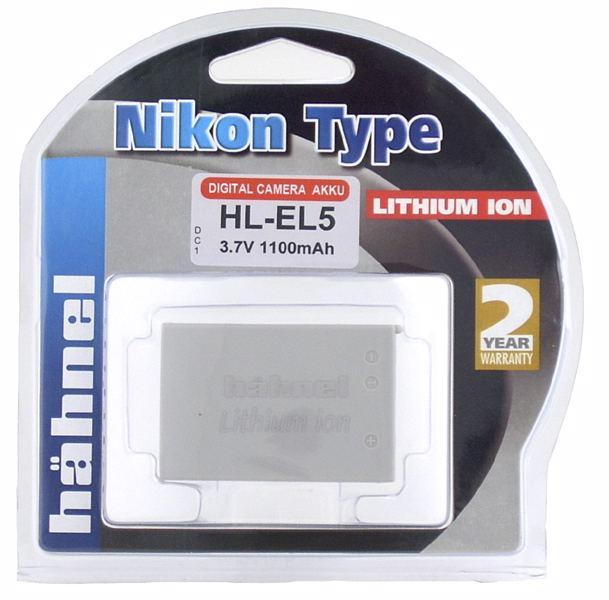 Hähnel HL-EL5 motsvarande Nikon EN-EL5
