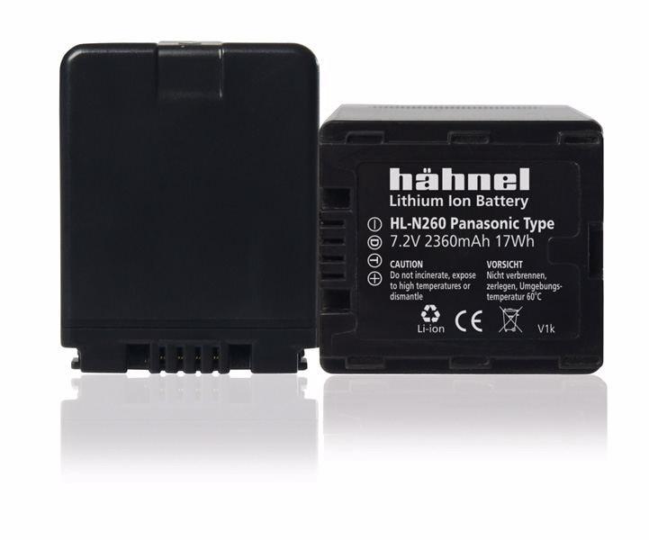 Hähnel NL-N260 motsvarande Panasonic VW-VBN260