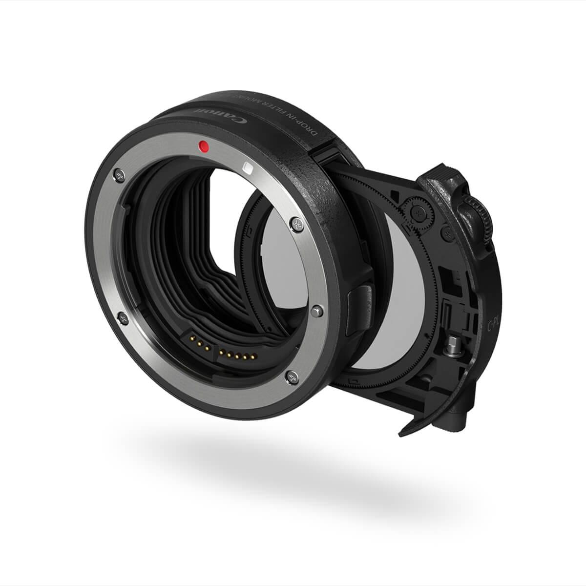 Drop-In Filter Mount Adapter EF-EOS R med variabel ND-filter