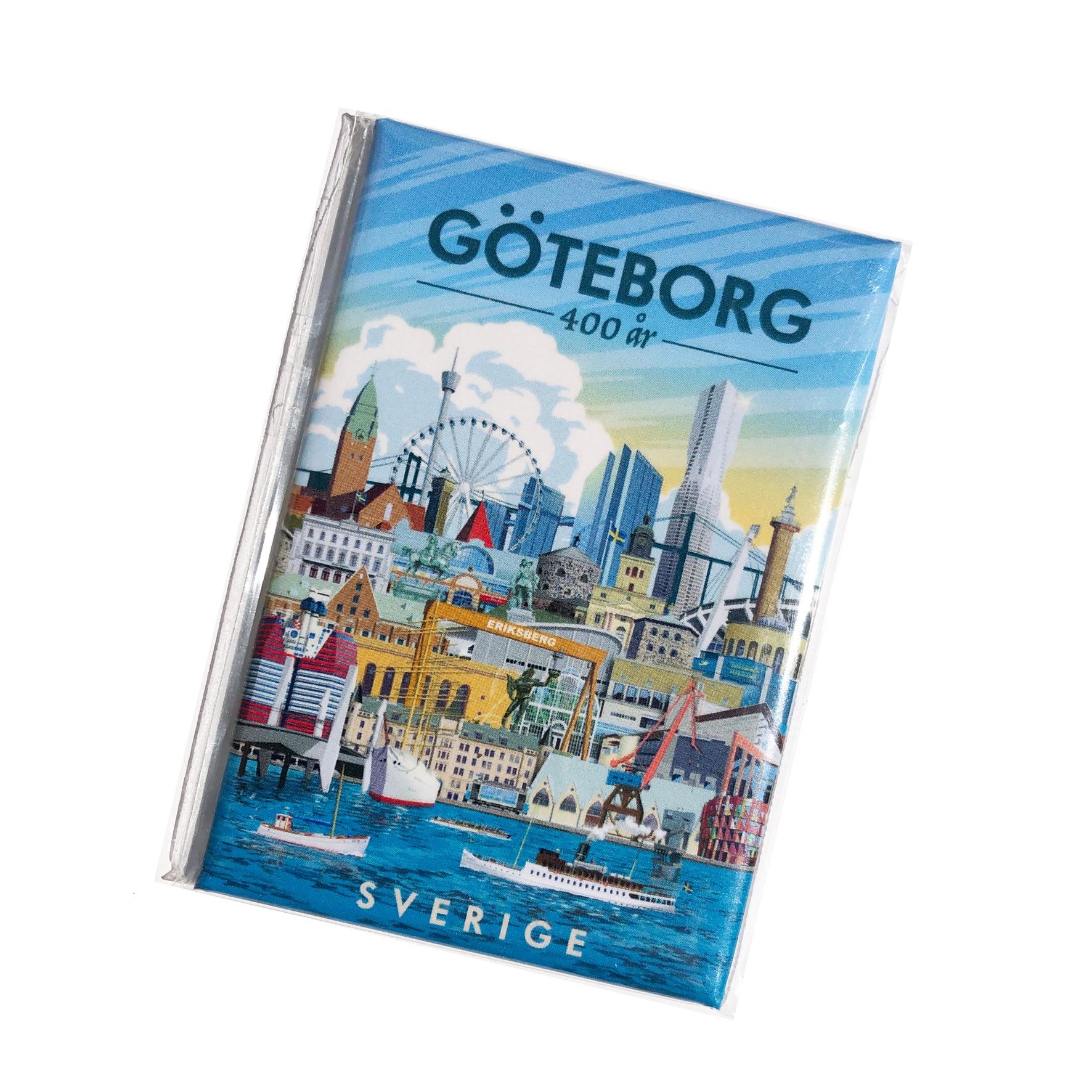 ThomasO Kylskåpsmagnet Göteborg 400 år