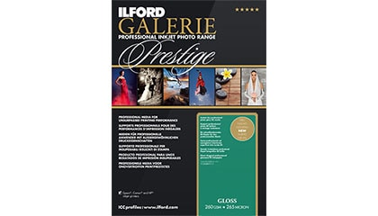 Ilford Galerie Prestige Gloss A4 25 Blad