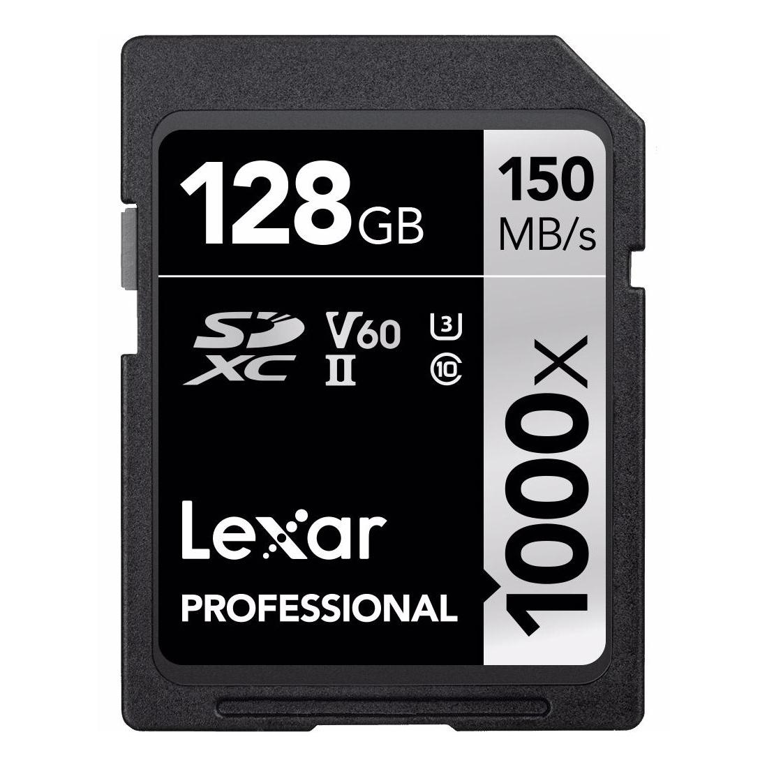 Lexar Pro 1000X SDHC/SDXC UHS-II 128 GB